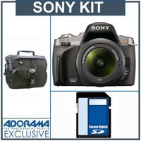 Sony (alpha) A330, 10.2 MP DSLR Camera/ Lens Kit, with 18-55mm SAM Lens, 8GB SD Memory Card, Lowepro Camera Case,