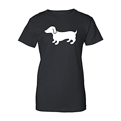 Mashed Clothing Dachshund (White) Women's T-Shirt