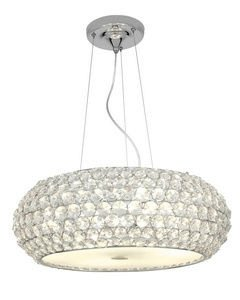 Access Lighting Kristal Cable Pendant - Chrome