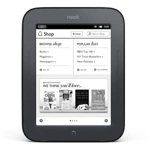 Barnes + Noble Nook Simple Touch eBook Reader (NEWEST model, WIFI Only)
