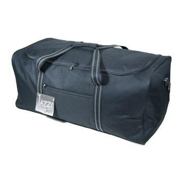 100L Large Light 75cm Duffle Bag Holdall Black from Jazzi
