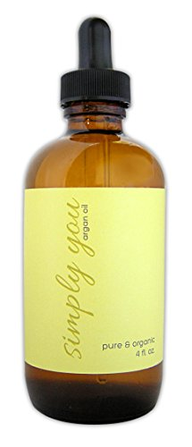 100% Virgin Argan Oil (4Oz)- Ecocert Organic For Hair Face Body. Natural Moroccan Moisturizer For Dry Skin Nails Cuticles- Best Anti-Aging -- Anti-Wrinkles - Acne Scars--Pure Cold Pressed Oil Prevents Frizz - Stretch Marks-- Money Back Guarantee!