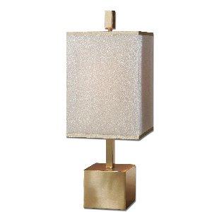 Uttermost 29939-1 Flannigan Brass Accent Lamp front-316241