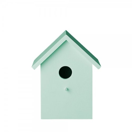 Bloomingville Vogelhaus aus Holz mint klein von Bloomingville