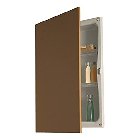 """NuTone 622 Basic Hideaway Recessed 16-1/4""""W x 21-1/2H Frameless Medicine Cabinet by Nutone"""