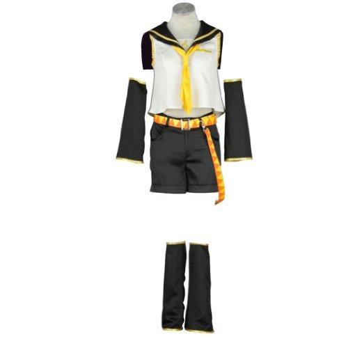 Vocaloid Family Cosplay Costume - Kagamine Rin Medium