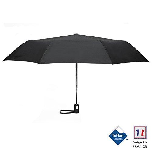 ombrello-da-viaggio-per-uomo-donna-e-bambini-di-walden-ombrello-nero-resistente-compatto-en-teflon-c