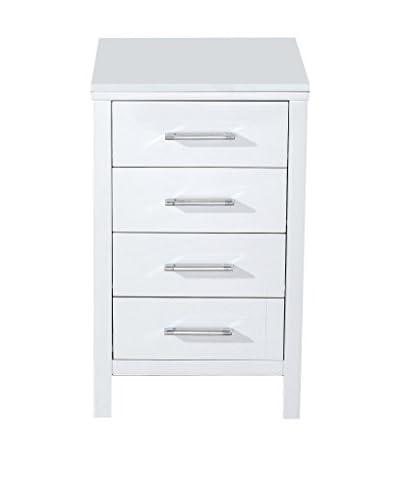 Virtu USA Dior Modern Side Cabinet