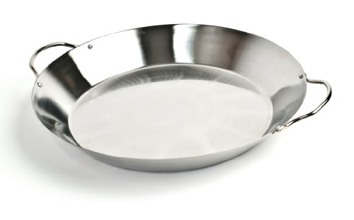 Charcoal Companion Stainless Paella Pan - CC1986