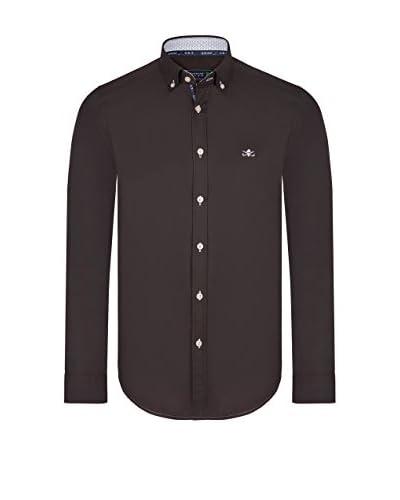 SIR RAYMOND TAILOR Camisa Hombre Marrón