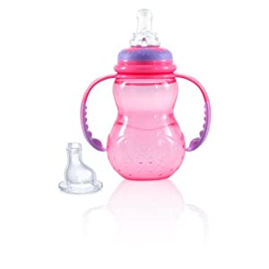 Nuby Wide Neck Bottle With Handle