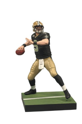 McFarlane Toys NFL Series 23 - Drew Brees 3 Action Figure