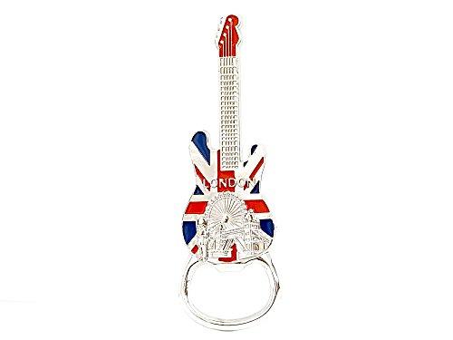 Londra Magnete apribottiglie Union Jack chitarra by gr8vape