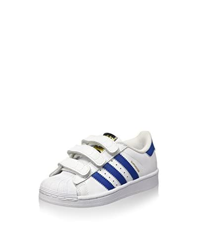 adidas Zapatillas Superstar Foundation Blanco / Azul Índigo