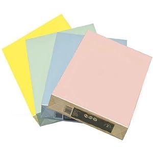 Ramette 500 feuilles a4 papier couleur saumon pastel 80 gr for Fourniture bureau papier