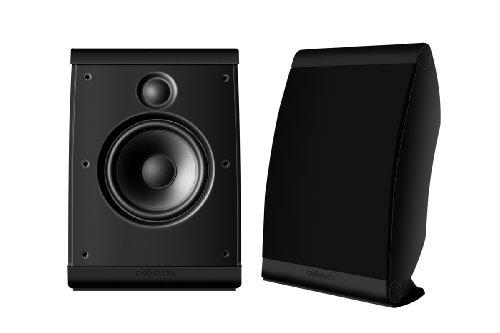 Polk Audio Owm3 On-Wall Speaker (Pair, Black)