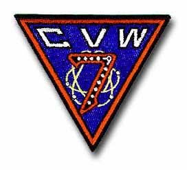 "Navy CVW-7 Carrier Airwing 4"" Military Patch"