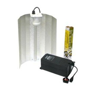 Maxibright 600W Eurowing Reflector, Compact Ballast, Sunmaster Dual Spectrum Lamp