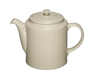 Le Creuset Stoneware Classic Grand Tea Pot, Almond
