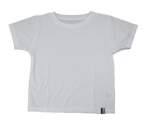 ナノミックス KC半袖Tシャツ 白 90