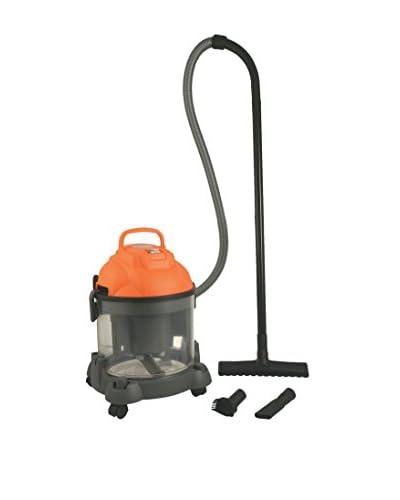 Galileo Casa Aspirador de Bidón 20 Lt Wet & Dry 1200W Naranja