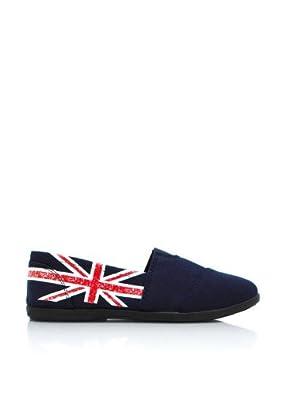 "Soda ""Object"" Womens Shoes Slip Ons Flats (Size 5.5) - Navy UK"