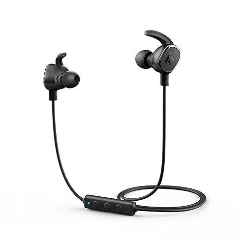 TaoTronics Bluetooth 4.1 イヤホン マグネット内蔵ヘッドホン 超軽量ワイヤレス ステレオヘッドセット 7時間連続再生可能 aptX CD音質 & CVC 6.0 ノイズキャンセルテクノロジー搭載 マイク内蔵 & リモートコントロール セラミックアンテナ TT-BH15