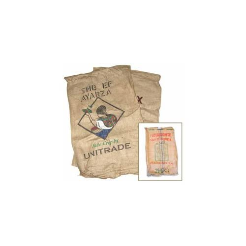 Assorted Empty Burlap Bags PKG (2)