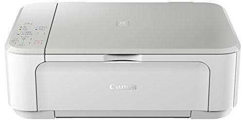 Canon プリンター インクジェット 複合機 PIXUS MG3630 WH ホワイト