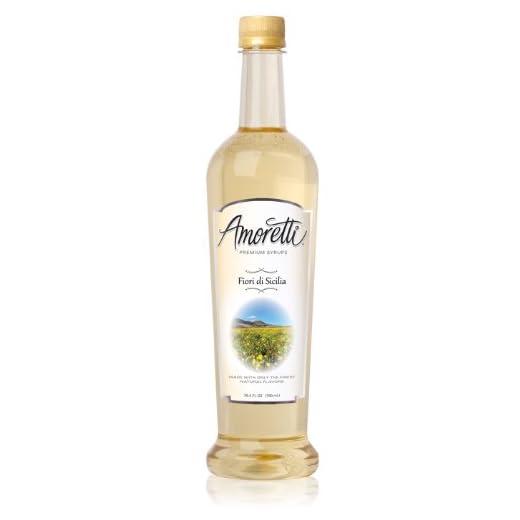 Amoretti Premium Fiori di Sicilia Syrup (750mL)