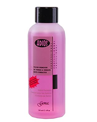 Gena Adios Pink Polish Remover, 4 Ounce