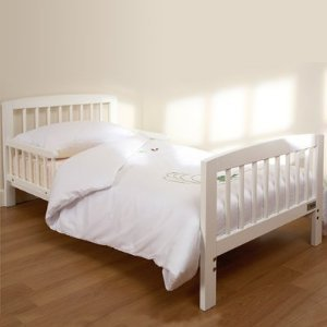 Tippitoes White Wooden Junior Bed