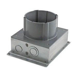 Hubbell S1sfb Floor Box Pvc Steel 7 5 X 7 38 In