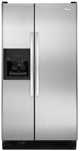 Whirlpool : ED5FVGXWS 36 25.3 cu. ft. Side by Side Refrigerator - Stainless Steel