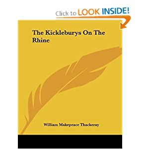 bol.com   The Kickleburys on the Rhine, William Makepeace ...