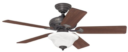 hunter 22465 52 inch brookline new bronze fan close to