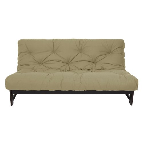 Check Out This Mozaic Full Size 6-Inch Futon Mattress, Khaki