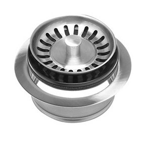 Mountain plumbing mt200ev brs kitchen sink strainer and - Amazon kitchen sink stopper ...