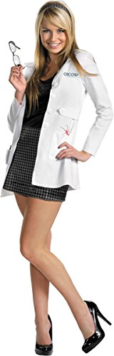 Morris Costumes Women's GWEN DELUXE ADULT, White/Black, 8-10