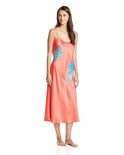 Natori Women's Lanal Long Embroidered Gown