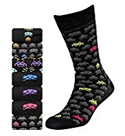 7 Pairs of Space Invaders™ Socks