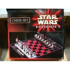 Star Wars Episode 1 Exclusive Chess Set