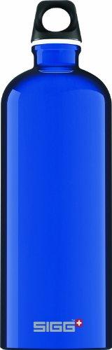 Sigg Traveler Classic Water Bottle (1.0-Liters, Reflex Blue) front-787443
