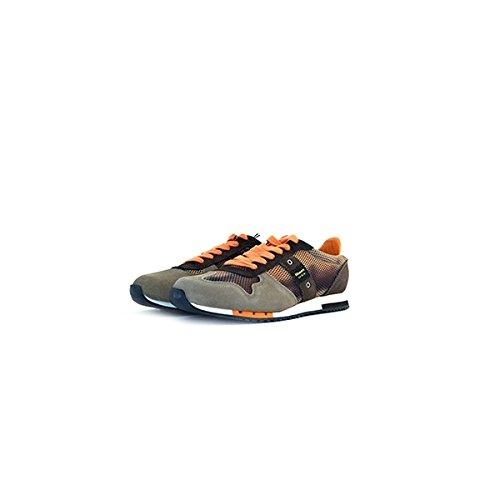 Scarpe Sneakers Uomo Blauer Mod. Ray 1B Sneakers Running U01755/003765 Col. Taupe (45).