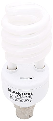 Anchor 20W Spiral CFL Bulb (White)