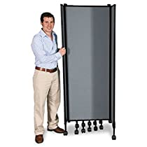 Hot Sale BALT GreatDivide Wall System Fabric Starter Set, 97w x 3d x 96h, Gray-- by BND 703673747707 74770