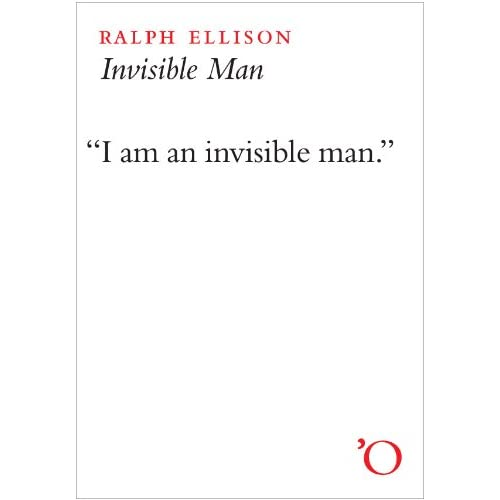 Ralph Ellison – Invisible Man cover
