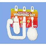 Brushtech B233C Sommelier's Wine Brush Washing Kit, Set of 3
