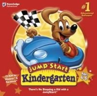 Jump Start Kindergarten Educational Computer Game