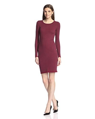 Marc New York Women's Pinstripe Sweater Dress
